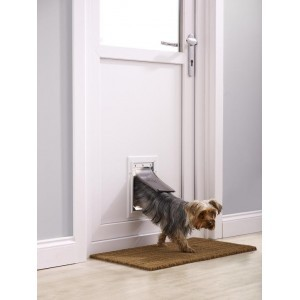 Staywell 600 Small Aluminium Pet Door Gattaiola