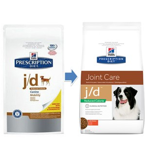 Hill's Prescription Diet J/D Reduced Calories Cane