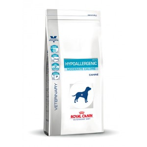 Royal Canin Hypoallergenic Moderate Calorie Cane