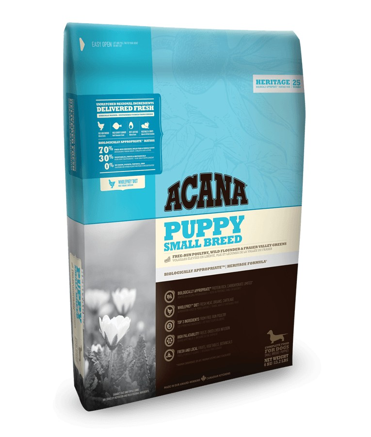 Acana Heritage Puppy small breed per cane