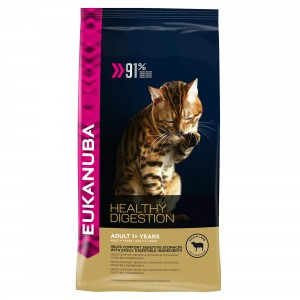 Eukanuba Gatto Healthy Digestion Adulto Agnello e Fegato