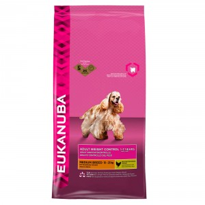 Eukanuba Cane Adult Weight Control Taglia Media