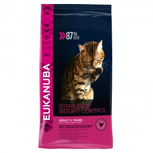 Eukanuba Gatto Adulto Sterilised/Weight Control