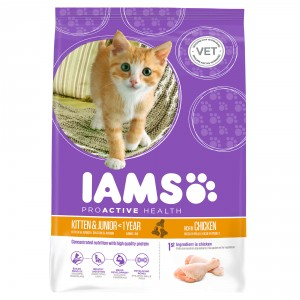Iams Kitten e Junior, Pollo (gatto)