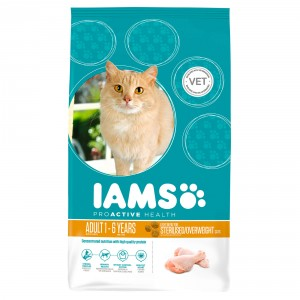 Iams Gatto Adulto, Sterilised/Overweight