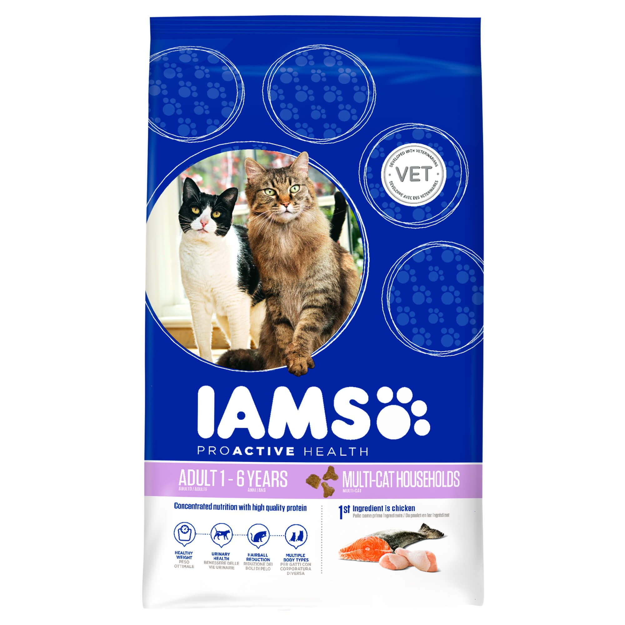 Iams Adult Multi-Cat (gatto)