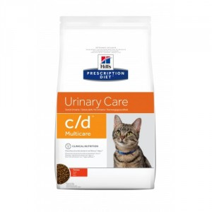 Hill's Prescription Diet C/D Multicare Gatto, con pollo
