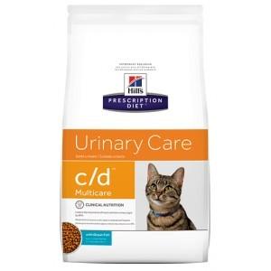 Hill's Prescription C/D Multi/Urinary Care Duo con pollo e pesce per gatto