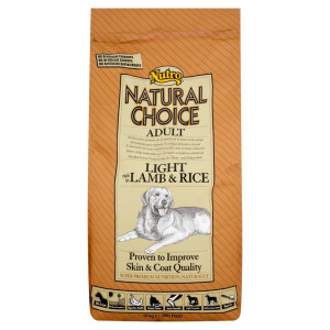 Nutro Choice Light Cane, Agnello & Riso