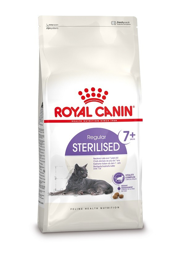 Royal Canin Sterilised 7+ Gatto