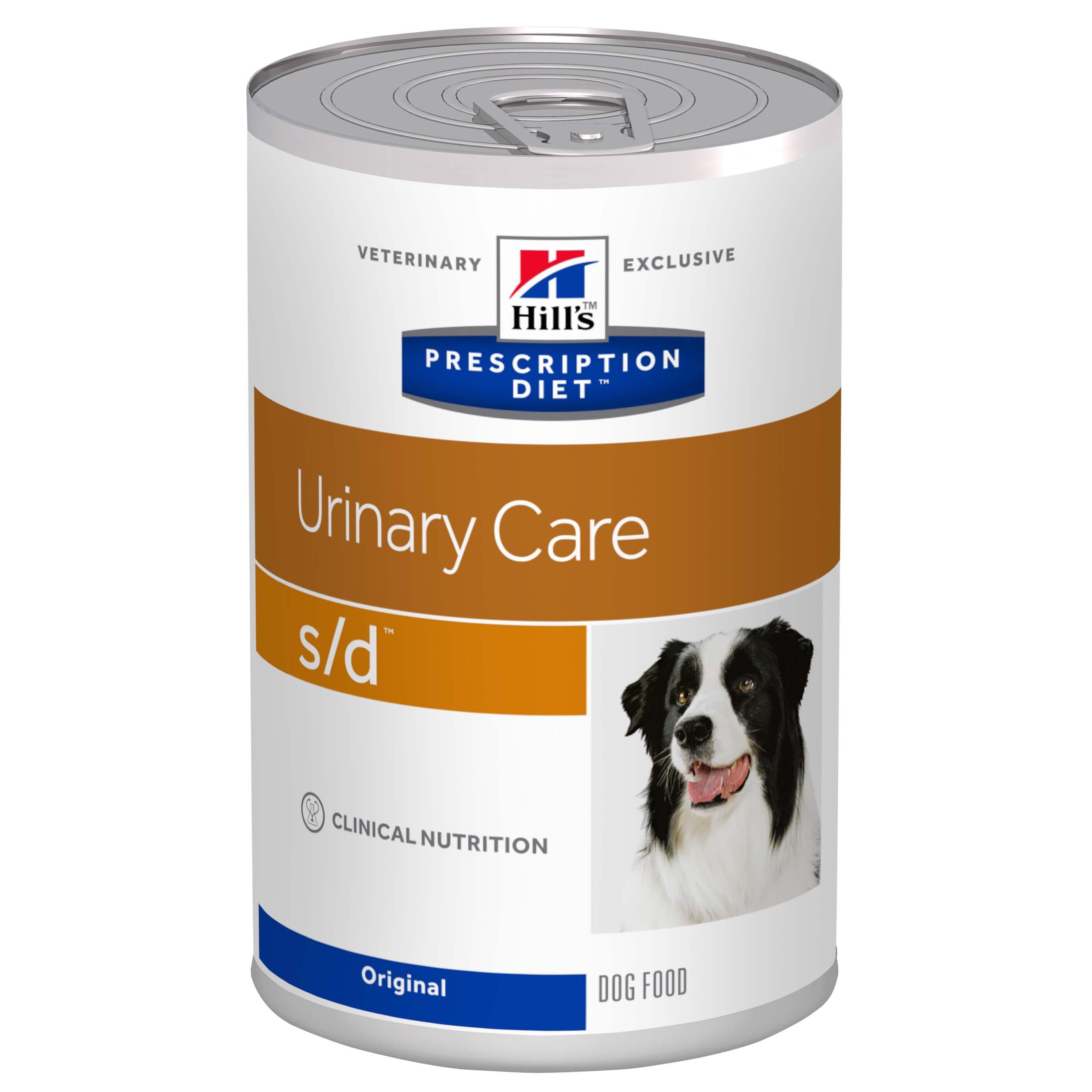 Hill's Prescription Diet S/D Urinary Care cibo umido per cane 370g