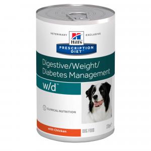 Hill's Prescription Diet W/D in scatola per cane 370 g
