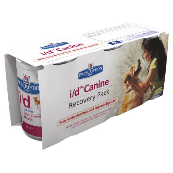 Hill's Prescription Diet I/D Recovery Pack Cane (3 x 360 g)