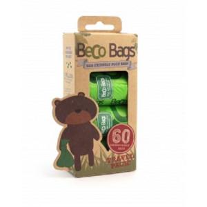 Beco Bags Sacchetti Igienici - 60 pezzi