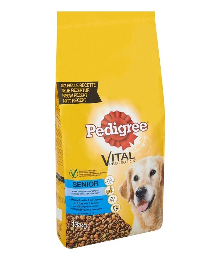 Pedigree Cane Senior 8+, con pollo
