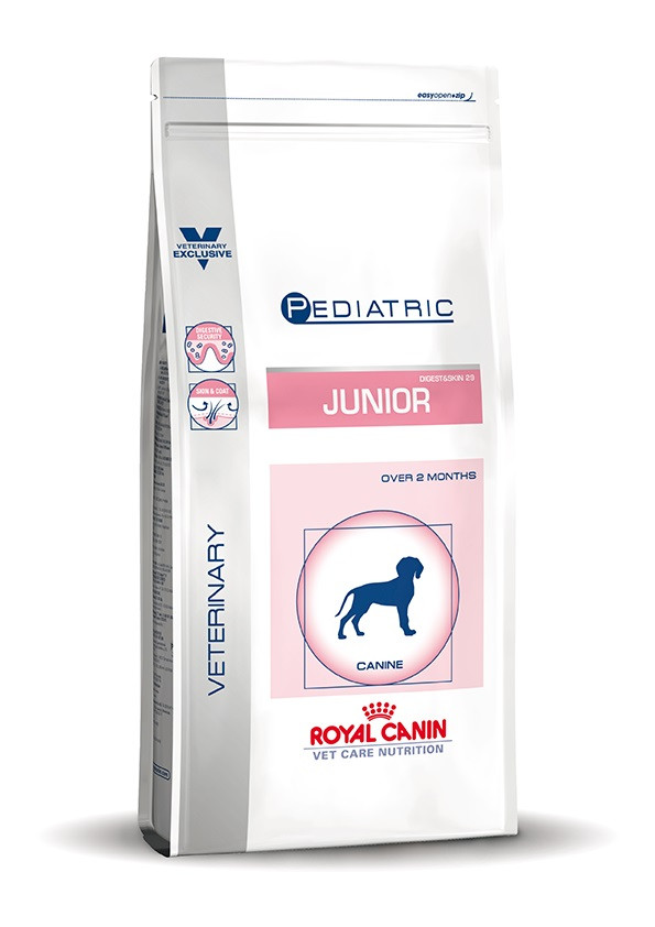 Royal Canin VCN Pediatric Junior Digest & Skin per cane