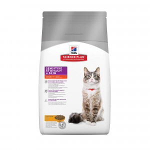 Immagine di 1.5 kg Hill's Adult Sensitive Stomach & Skin Gatto