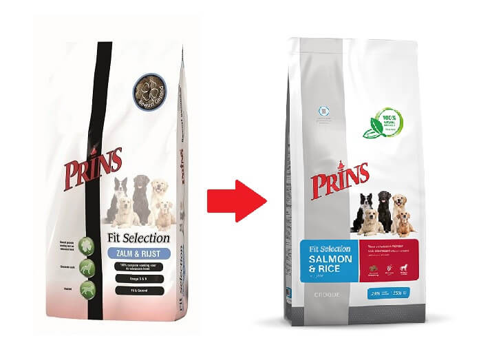 Prins Cane – Fit Selection, con salmone e riso