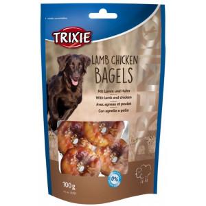 Premio con Agnello & Pollo Bagels snack per cane