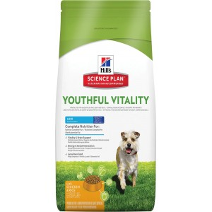 Hill's Adult 7+ Youthful Vitality Mini Cane, con pollo