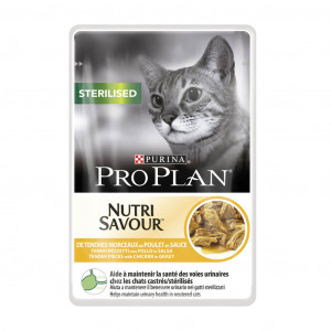 Pro Plan Sterilised Nutrisavour pollo in salsa bustine ( 85 gr)