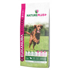 Eukanuba NaturePlus+ Cane Puppy, con Agnello