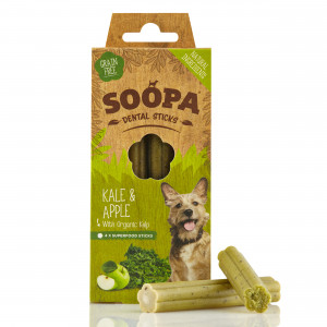 Soopa Dental Sticks Kool & Appel Hondensnack