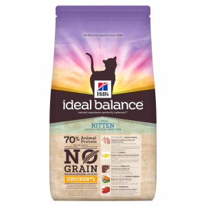 Immagine di 1.5 kg Hill's Ideal Balance Kitten No Grain Gatto, con pollo e patate