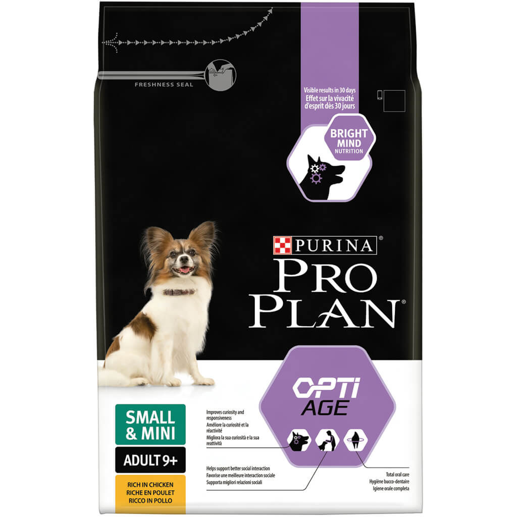 Pro Plan Cane Small & Mini Adult 9+ Optiage