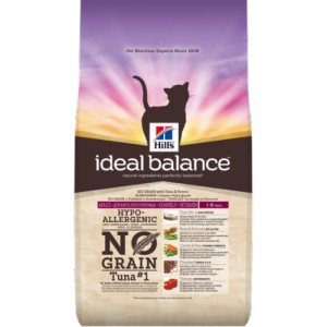 Immagine di 1.5 kg Hill's Ideal Balance Adult No Grain Gatto, con tonno e patate