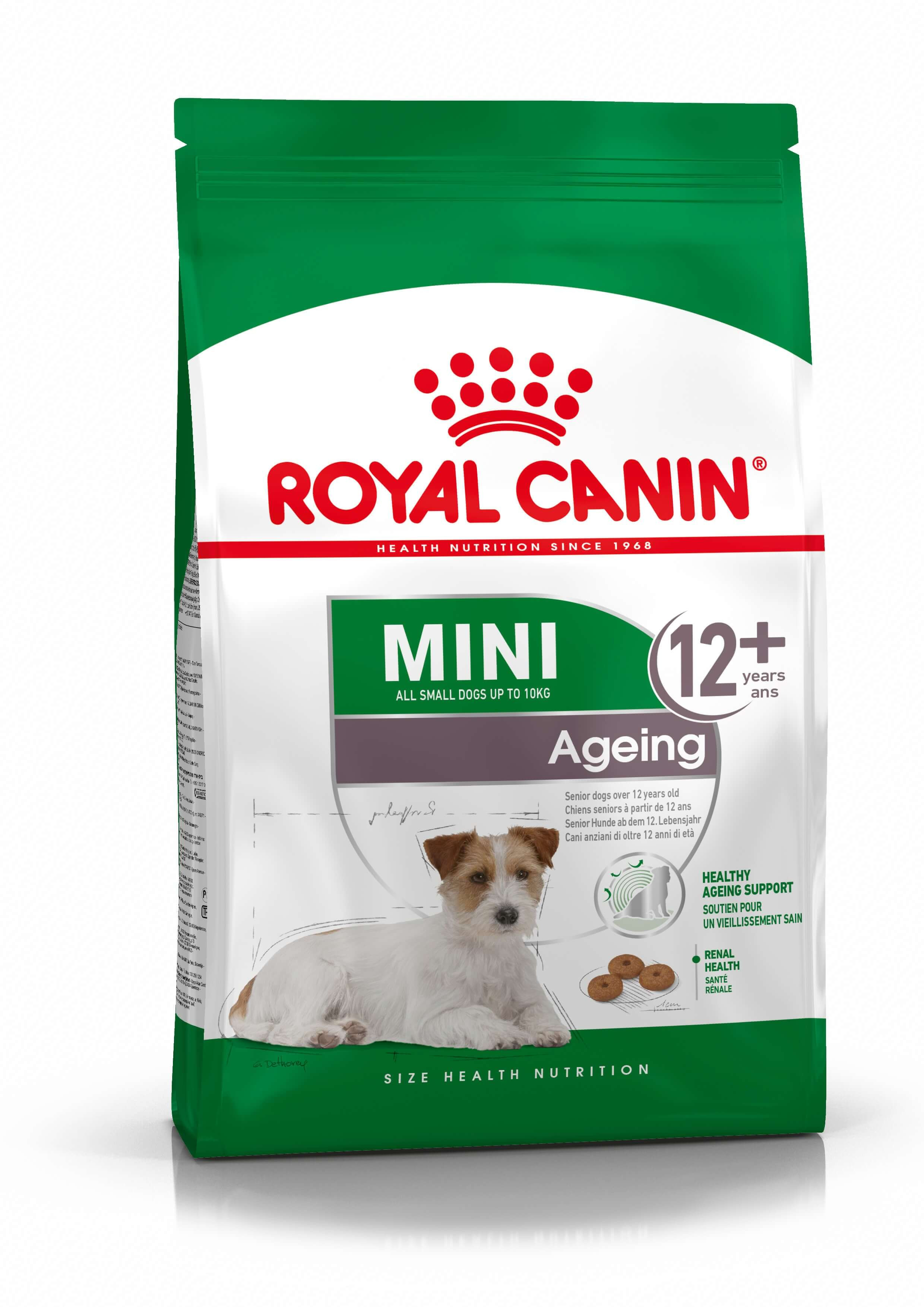 Royal Canin Mini Ageing 12+ per cane