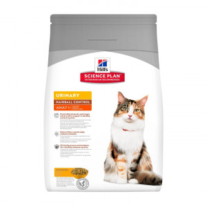 Hill's Urinary Health + Hairball Control Gatto Adulto, pollo