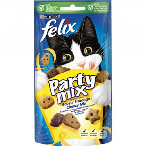 Felix Party Mix Cheezy snacks per gatto 60 g