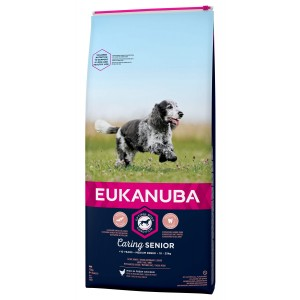 Eukanuba Caring Senior Medium Breed kip hondenvoer