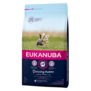 Eukanuba Dog Growing Puppy Toy Breed kip hondenvoer