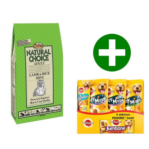Nutro Choice Mini Cane, Agnello & Riso