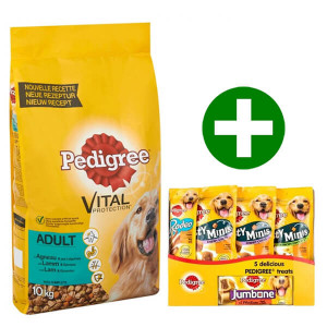 Pedigree Cane Adulto, con agnello