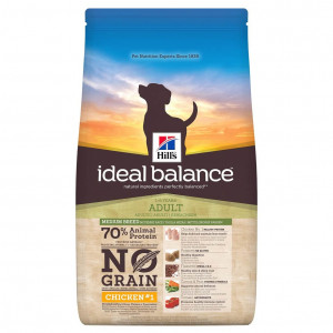Hill's Ideal Balance Adult NoGrain Cane, con pollo e patate