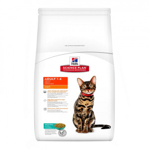 Immagine di 1.5 kg Hill's Adult Light Gatto, con tonno