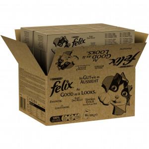 Felix EDF Mix Selectie in Gelei ( 80 stuks)