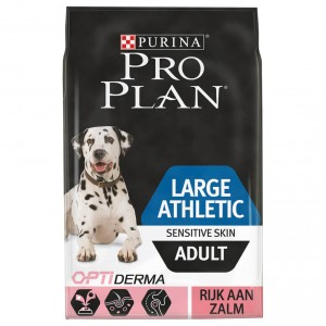 Pro Plan Optiderma Large Athletic Adult Sensitive Skin Cane