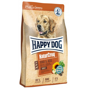 Happy Dog NaturCroq Manzo e Riso per cane