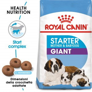 Royal Canin Giant Starter Mother and Babydog per cane
