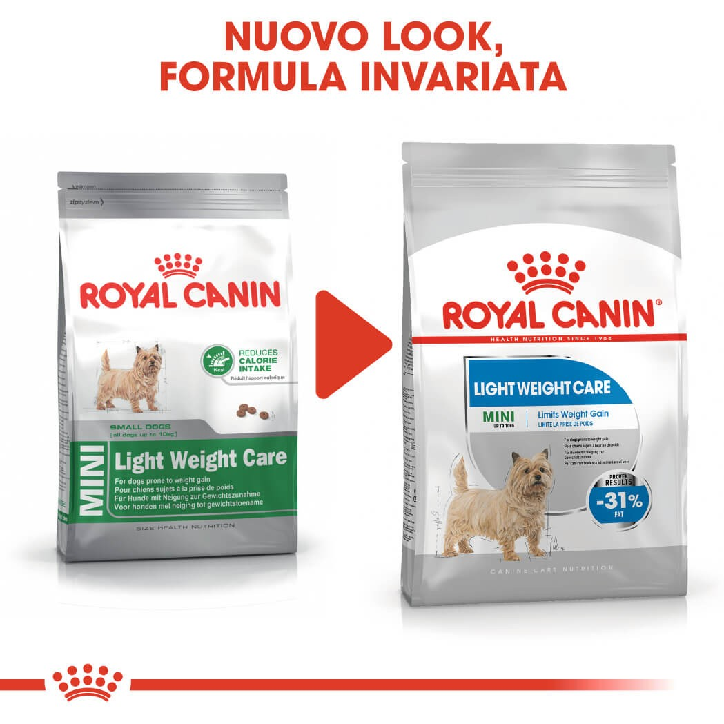 Royal Canin Mini Light Weight Care per cane
