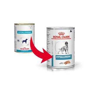 Royal Canin Veterinary Hypoallergenic (in scatola) per cane 400g