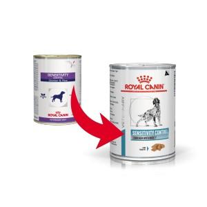 Royal Canin Sensitivity Control (in scatola) con pollo & riso per cane