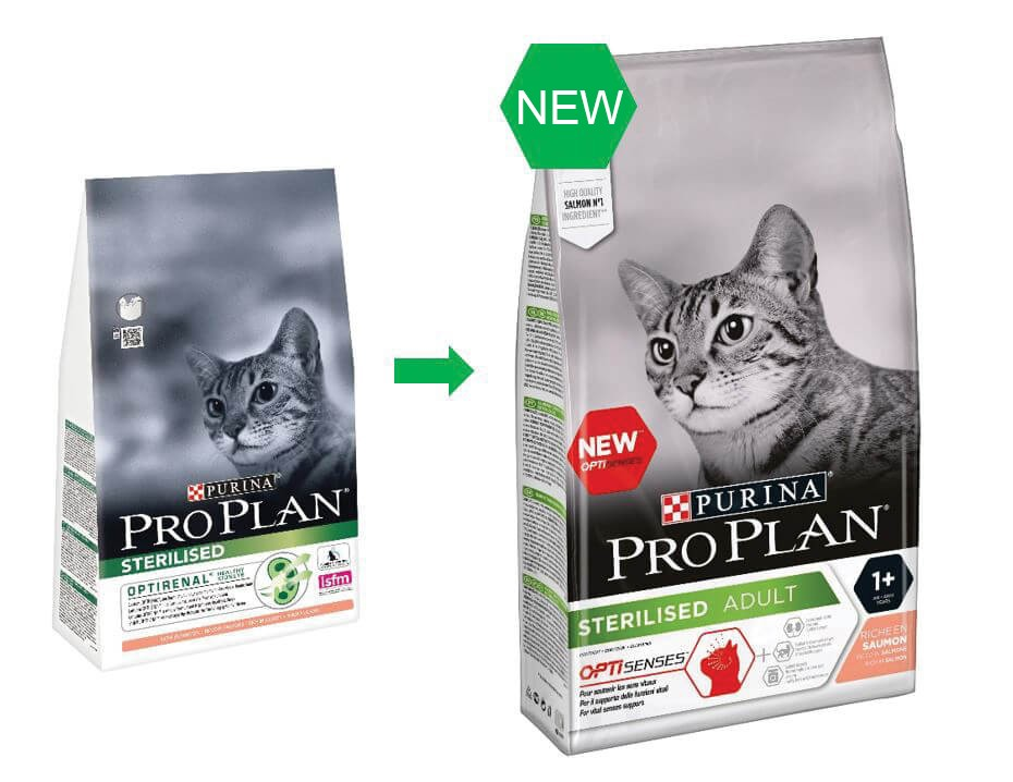 Pro Plan Sterilised Adult Zalm Optisenses kattenvoer