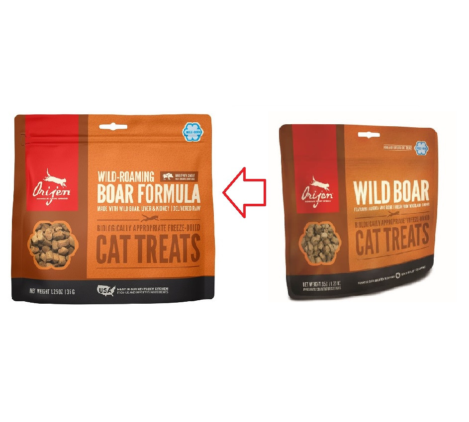 Orijen Wild-Roaming Boar Gatto Snacks