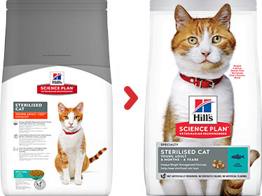 Hill's Sterilised Young Adult Gatto, con tonno
