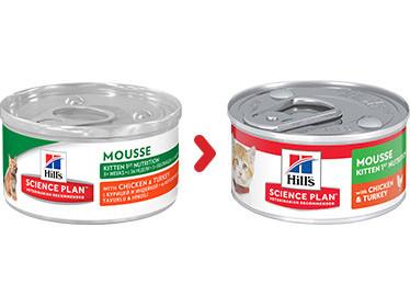 Hill's Kitten 1st Nutrition Mousse Gatto, pollo